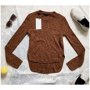 Zara Knit Lower-Back Sweater